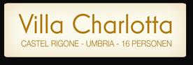 Villa Charlotta | Vakantiewoning in Italië